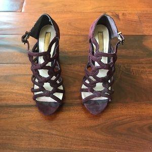 Purple Suede BCBG Heels!